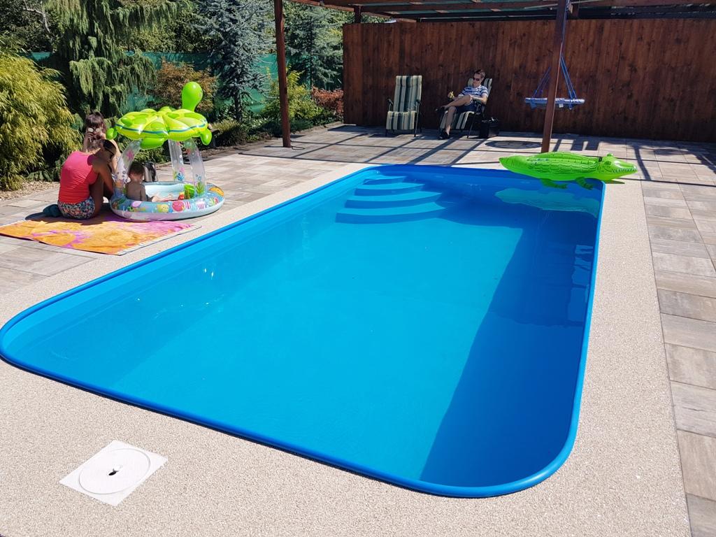Plastové Bazény Do Země V Akci Od Rodinné Firmy Bazény šulc