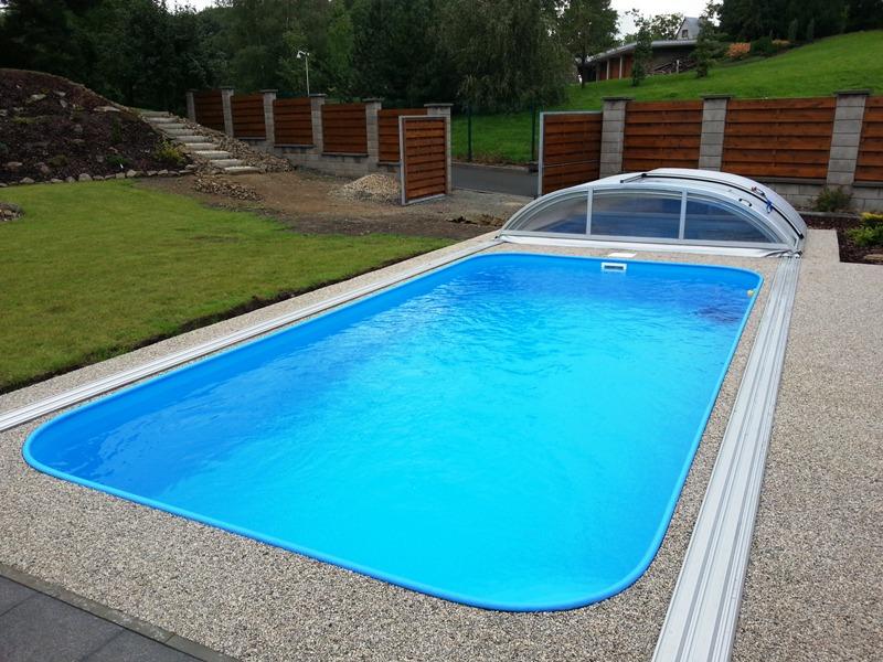 plastové zahradní bazény v akci