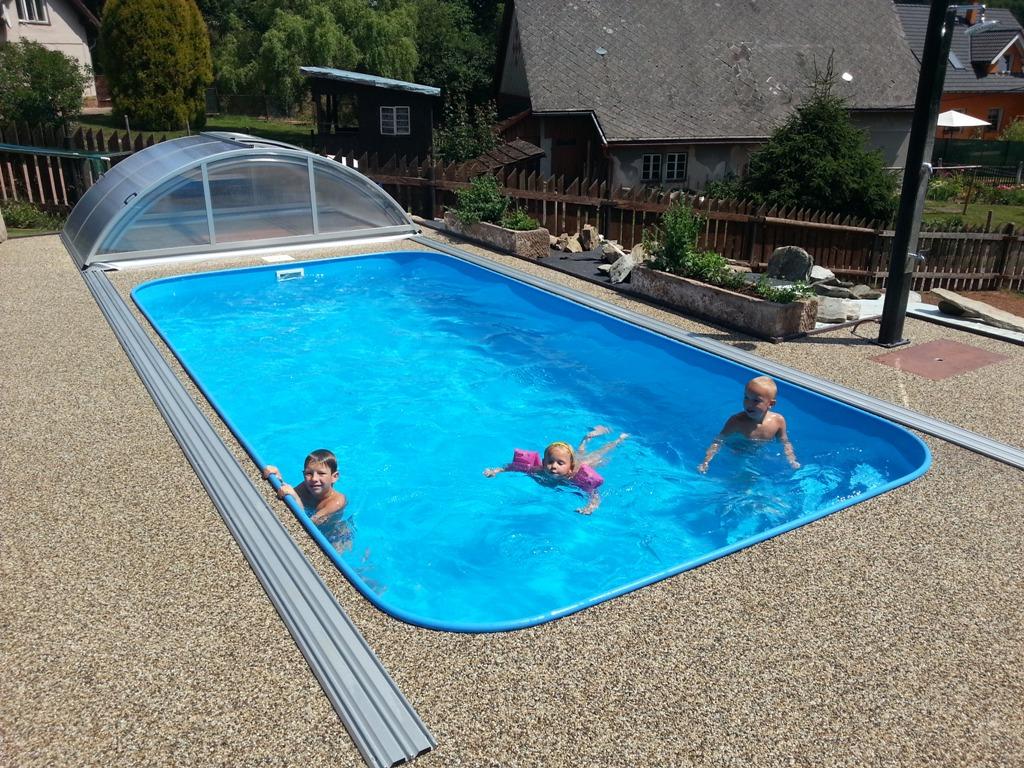 Kvalitní plastové bazény