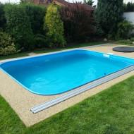 Plastový bazén akční set 1