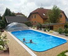 Fotografie plastového bazénu set 6